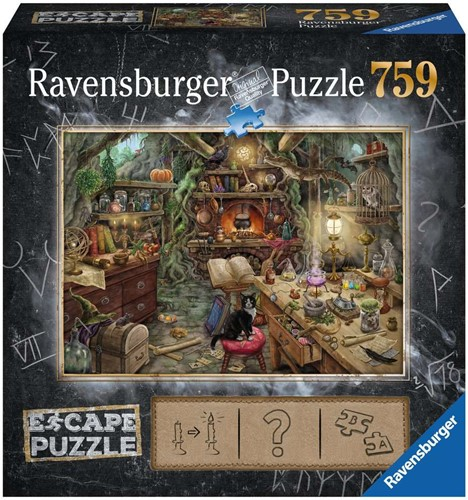 Ravensburger ESCAPE3 Kitchen of a witch Puzzlespiel 759 Stück(e)