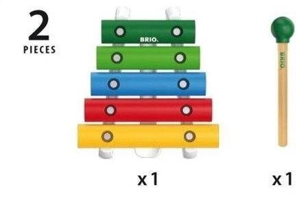 Brio Holz Musikinstrument Xylophon 30182