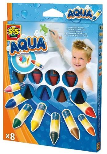 Ses 13022 Aqua Kleuren In Bad 8st