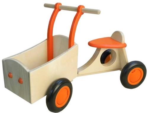 Van Dijk Toys Holz Lieferrad Orange