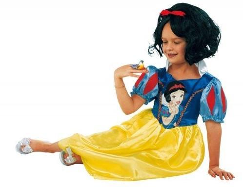Planet Happy  verkleedspullen Sneeuwwitje jurk 7 tot 8 jaar