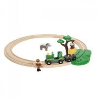 Brio Holz Eisenbahn Set Safari Bahn Set 33720