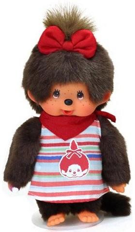 Monchhichi knuffelpop Meisje Fashion Jurk - 20 cm