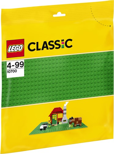 LEGO Classic Grüne Grundplatte 10700