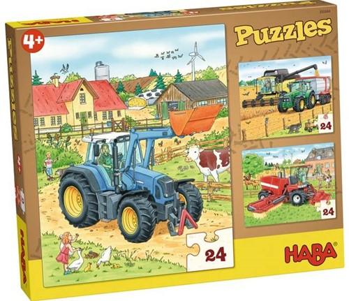 Haba Puzzles Traktor und Co.