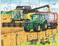 Haba Puzzles Traktor und Co.-3