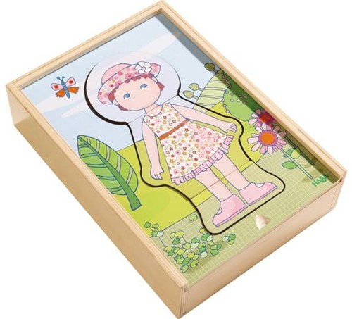 HABA Houten puzzel Lilli's lievelingskleren-3
