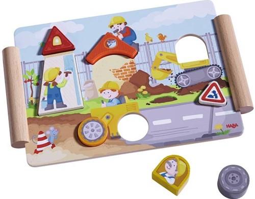 Haba Holzpuzzle Bauen & Fahren-2