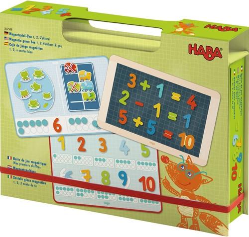 Haba Magnetspiel-Box 1, 2, Zählerei