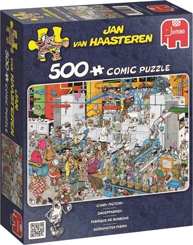 Jan van Haasteren Süßigkeiten Fabrik 500 Teile