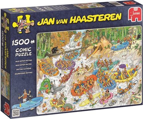 Jan van Haasteren Wildwasser-Rafting 1500 Teile