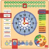 Goula Kalenderklok NL (vierkant)-2