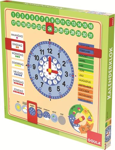 Goula Kalenderklok NL (vierkant)-3