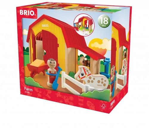 Brio Holz Spielset My Home Town - Mein großer Bauernhof 30398-3