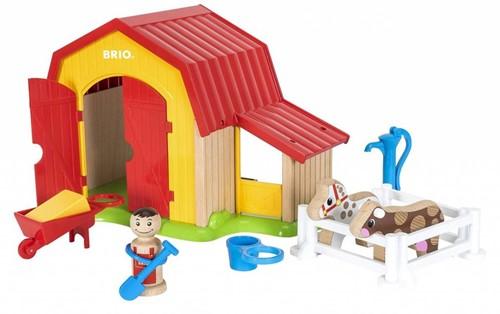 Brio Holz Spielset My Home Town - Mein großer Bauernhof 30398