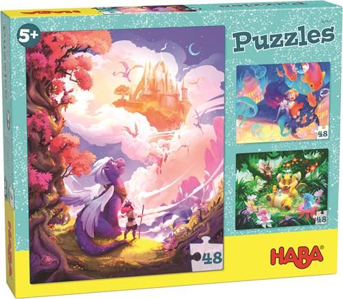 HABA Puzzle Im Fantasieland