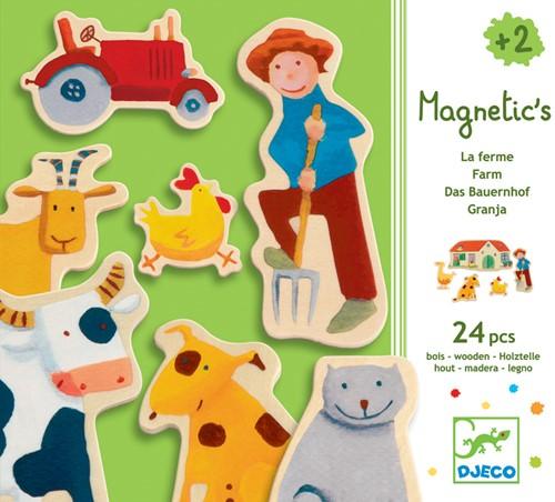Djeco Magnétiques bois Farm