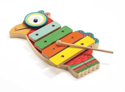 DJECO Cymbal and Xylophone - 18 x 28,3 x 4 cm