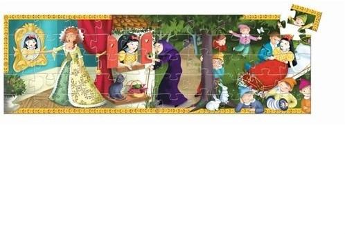 DJECO Snow White 50 pcs - 22,2 x 27,2 x 6 cm