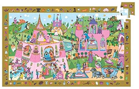 Djeco Princesses - 54 pcs - FSC MIX