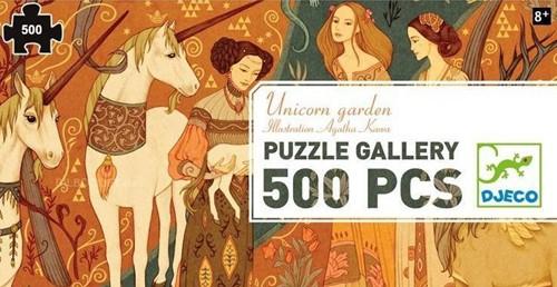 Djeco Unicorn garden - 500 pcs - FSC MIX