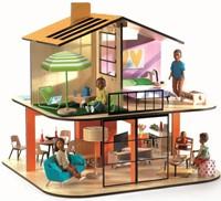 Djeco houten poppenhuis Colour House