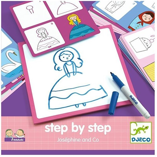 Djeco Step by step Joséphine and Co