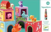 Djeco stapelblokken met figuren Topanifarm-2