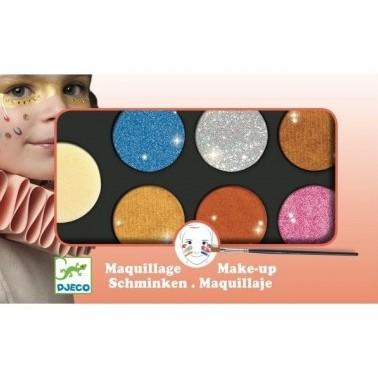 Djeco Palette 6 couleurs - Effet métal