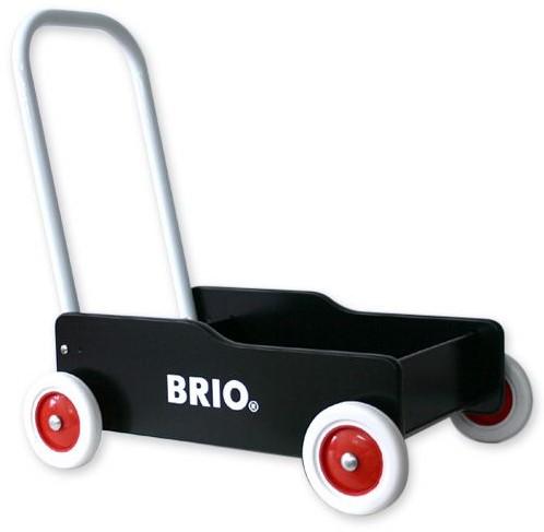 Brio Holz Lauflernwagen schwarz 31351