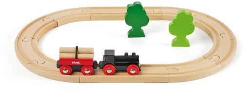 Brio Holz Eisenbahn Set Bahn Starterset 33042