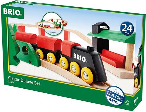 Brio Holz Eisenbahn Set BRIO Classic Deluxe-Set 33424-2