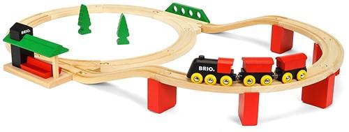 Brio Holz Eisenbahn Set BRIO Classic Deluxe-Set 33424