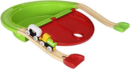 Brio Holz Eisenbahn Set Mein erster BRIO Mitnehm-Spielkoffer 33711