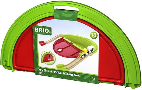 Brio Holz Eisenbahn Set Mein erster BRIO Mitnehm-Spielkoffer 33711-2