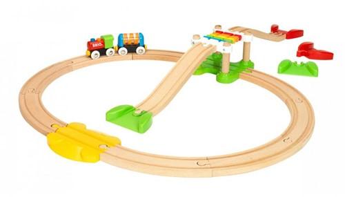 Brio Holz Eisenbahn Set Mein erstes BRIO Bahn Einsteiger Set 33727