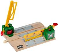 Brio Holz Eisenbahn Zubehör Magnetische Kreuzung 33750