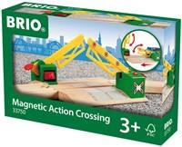 Brio Holz Eisenbahn Zubehör Magnetische Kreuzung 33750-2