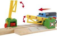 Brio Holz Eisenbahn Zubehör Magnetische Kreuzung 33750-3