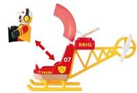Brio Holz Eisenbahn Zubehör Feuerwehr-Hubschrauber 33797-2