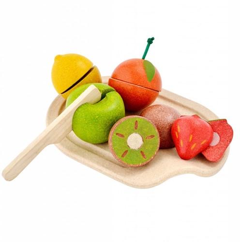 Plan Toys  Holzküche Zubehör Obst Sortiment