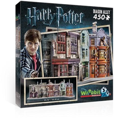Wrebbit 3D Harry Potter Diagon Alley 450 pcs 3D-Puzzle