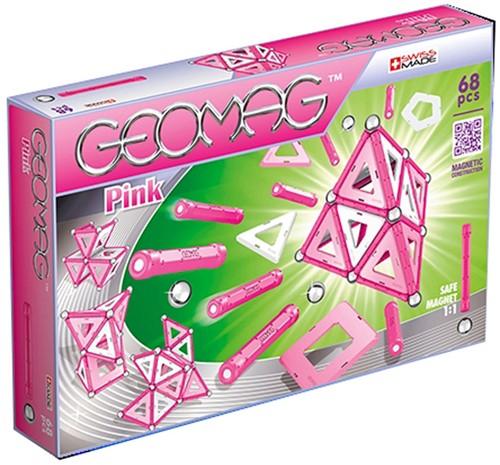 Geomag Panels Pink 68 pcs Neodymium-Magnetspielzeug 68 Stück(e)