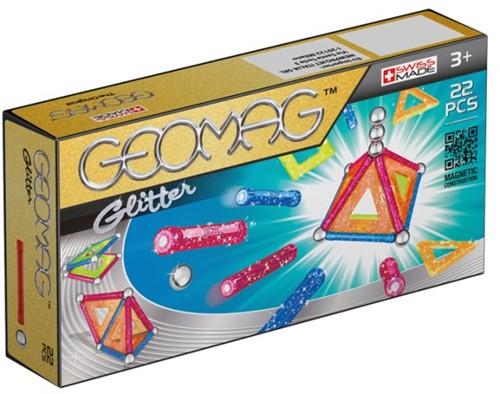 Geomag Panels Glitter 22 pcs Neodymium-Magnetspielzeug 22 Stück(e) Mehrfarbig