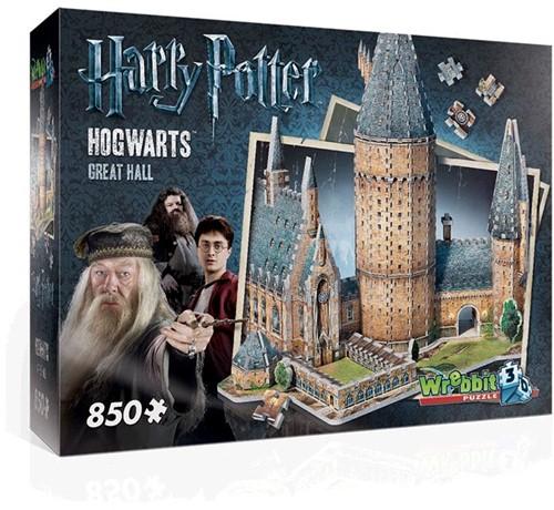 Wrebbit 3D Harry Potter Hogwarts Great Hall 850 pcs 3D-Puzzle