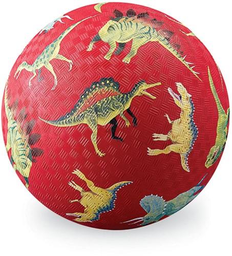 Crocodile Creek 18 cm Playball/Dinosaurs Red
