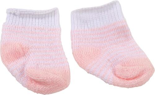 """Götz Shoes & Co, sokken """"""""Stripy pink"""""""", babypoppen 30-33 cm / 42-46 cm / 48 cm / staanpoppen 45-50 cm"""