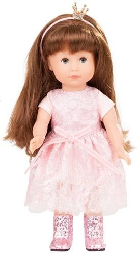 """Götz Just like me, """"""""Prinzessin Chloe"""""""", bruin haar, slaapogen, 27 cm"""