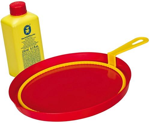Pustefix  Spielzeug für Draußen Seifenblasen Großer Ring