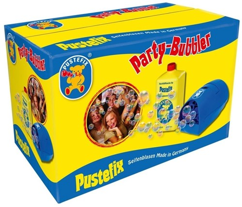 Pustefix Spielzeug für Draußen Seifenblasen Party-Bubbler
